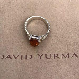 David Yurman Citrine Ring